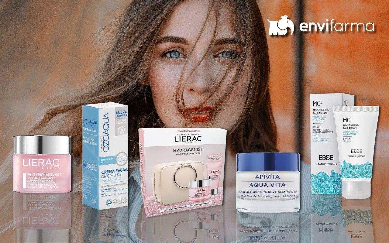 Cinco cremas hidratantes perfectas para tu piel