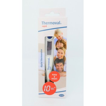 TERMOMETRO DIGITAL THERMOVAL RAPID MEDICION RAPI