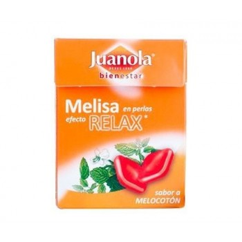 JUANOLA PERLAS MELISA -MELOCOTON 25 G