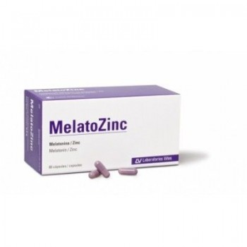 MELATOZINC 1 MG 60 CAPS