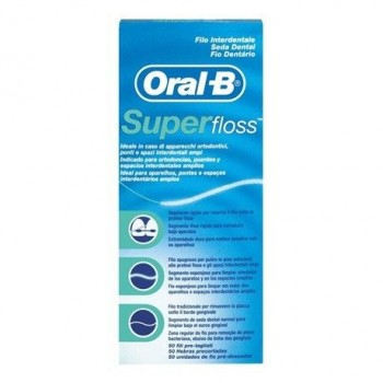 ORAL-B SEDA DENTAL SUPER FLOSS 50 METROS