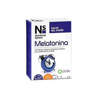 NS MELATONINA 1.95 MG 30 COMP MASTICABLES