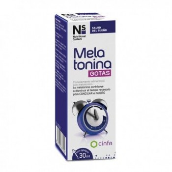 NS MELATONINA GOTAS 1 MG 30 ML