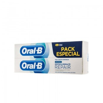 ORAL-B GUM & ENAMEL ORIGINAL PASTA DENTAL DUPLO