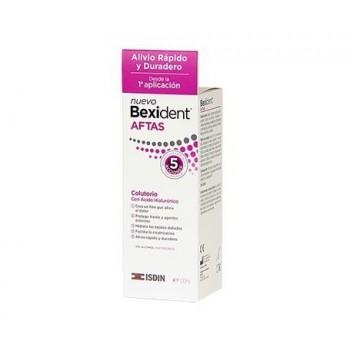 BEXIDENT AFTAS COLUTORIO 120ML