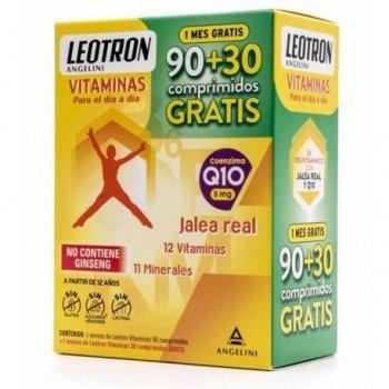 LEOTRON VITAMINAS 90 + 30 COMPRIMIDOS