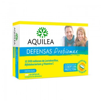 AQUILEA PROBIOMAX DEFENSAS ADULTOS 10 CAPS