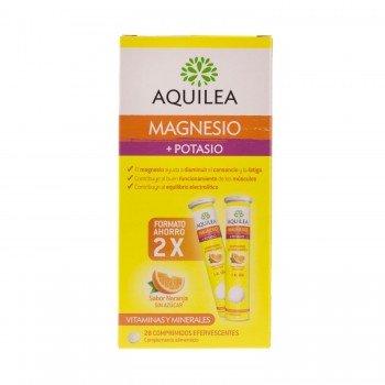AQUILEA MAGNESIO+ POTASIO COMP EFERVESCENTE 28 C
