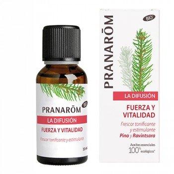 PRANAROM LA DIFUSION  FUERZA Y VITALIDAD 30 ML