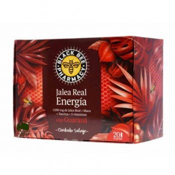 JALEA REAL BLACK BEE ENERGIA 20 AMPOLLAS