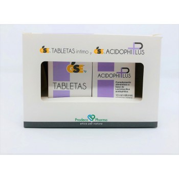PACK GSE INTIMO KIT TABLETAS + ACIDOPHILUS