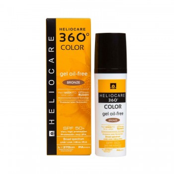 HELIOCARE 360º SPF 50+ COLOR GEL OIL-FREE BRONZE