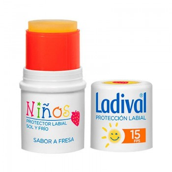 LADIVAL PROTECTOR LABIAL NIÑOS FPS 15 MEDIA STIC