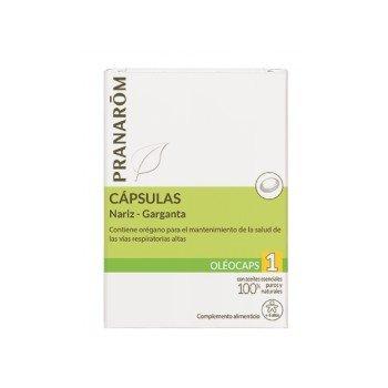 OLEOCAPS 1 NARIZ-GARGANTA 30 CAPS