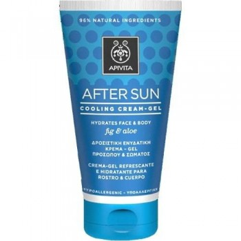 AFTER SUN HIGO Y ALOE APIVITA 150 ML