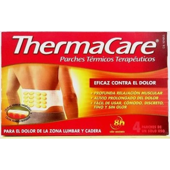 THERMACARE PARCHES LUMBAR 4 UNIDADES