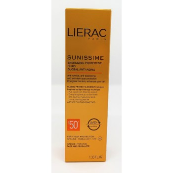 LIERAC SUNISSIME FLUIDO PROTECT ENERG ROSTRO FPS