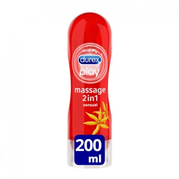DUREX PLAY GEL MASAJE SENSUAL 200 ML