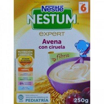 NESTLE NESTUM  AVENA CON CIRUELAS 250 G