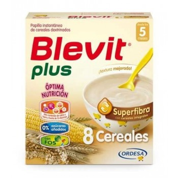 BLEVIT PLUS SUPERFIBRA 8 CEREALES 600 G
