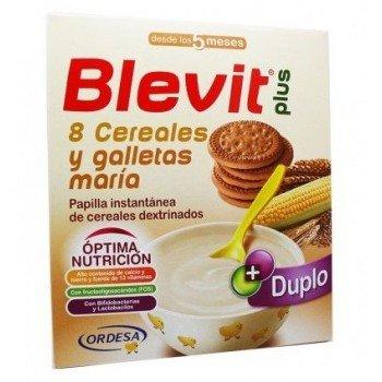 BLEVIT PLUS 8 CEREALES Y GALLETAS DUPLO 600 G