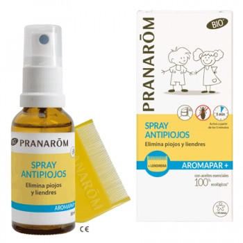 PRANAROM SPRAY ANTIPIOJOS + LENDRERA
