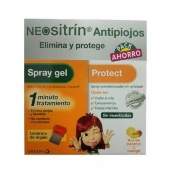 PACK NEOSITRIN PROTECT + NEOSITRIN 1 SPRAY GEL L