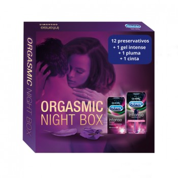 PACK ORGASMIC NIGHT BOX 12 U + 10 ML
